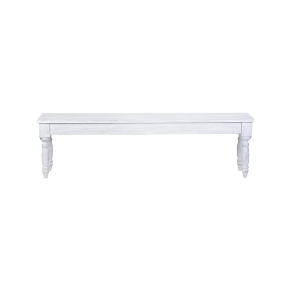 Carnahan Wood Bench by Highland Dunes