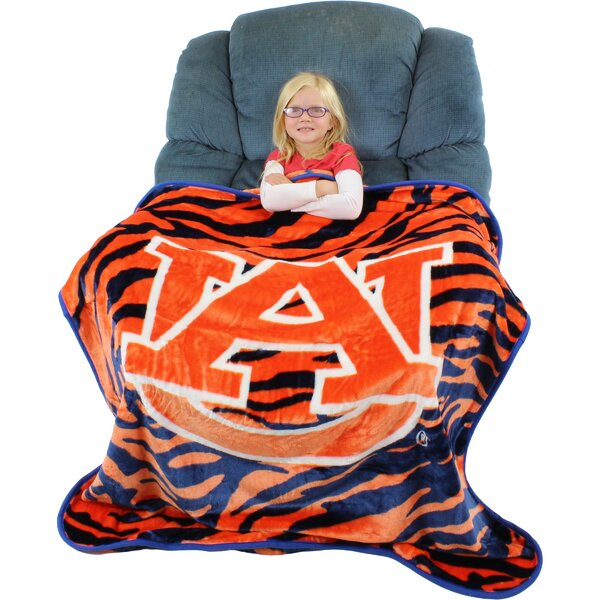 Auburn Tigers Throw Blanket by College Covers