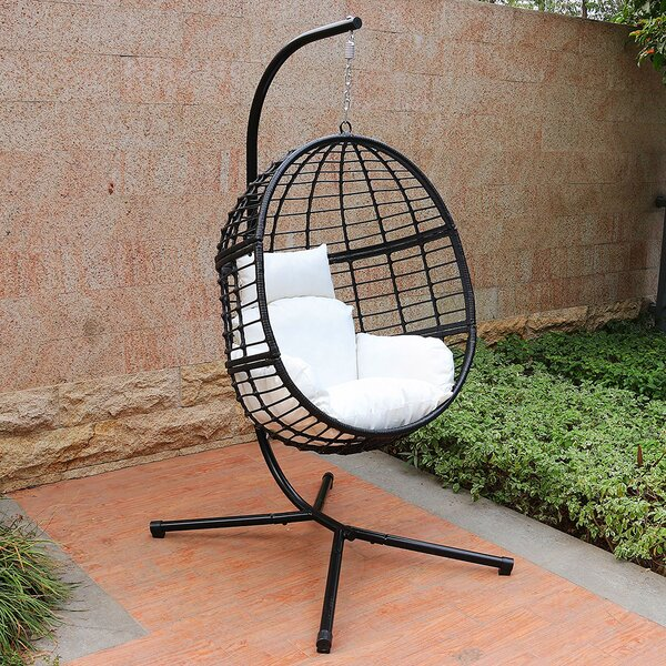 Jaylyn Swing Chair with Stand by Bayou Breeze