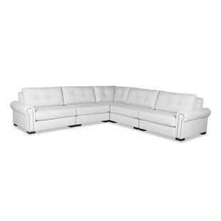 Lebanon Buttoned Sectional By Darby Home Co