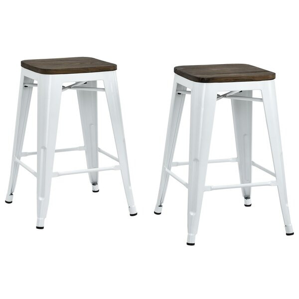 Fortuna 24 Bar Stool (Set of 2) by Trent Austin Design
