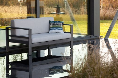 Sion Loveseat with Cushions by E9-Halo