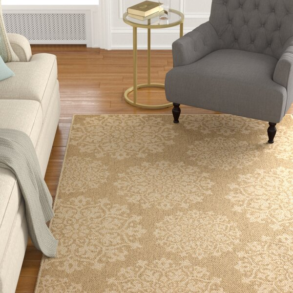 Barker Natural Area Rug by Alcott Hill