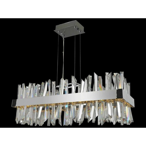 Roark Unique / Statement Square / Rectangle Chandelier By Everly Quinn