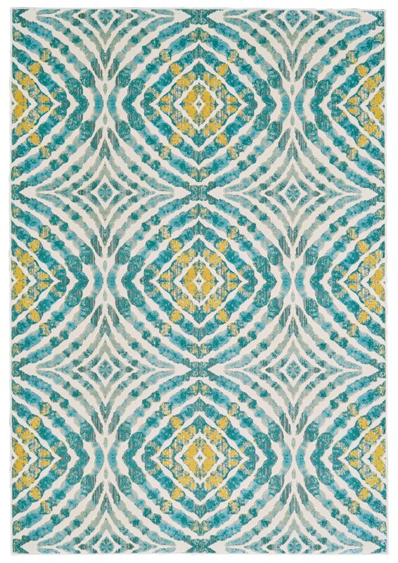 Sutton Place Teal Area Rug Amp Reviews Allmodern