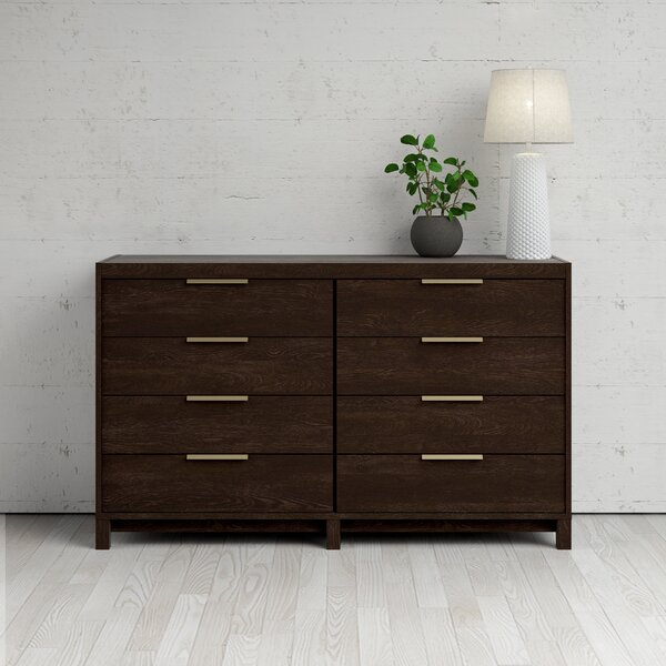 Glynda 8 Drawer Double Dresser by Ivy Bronx