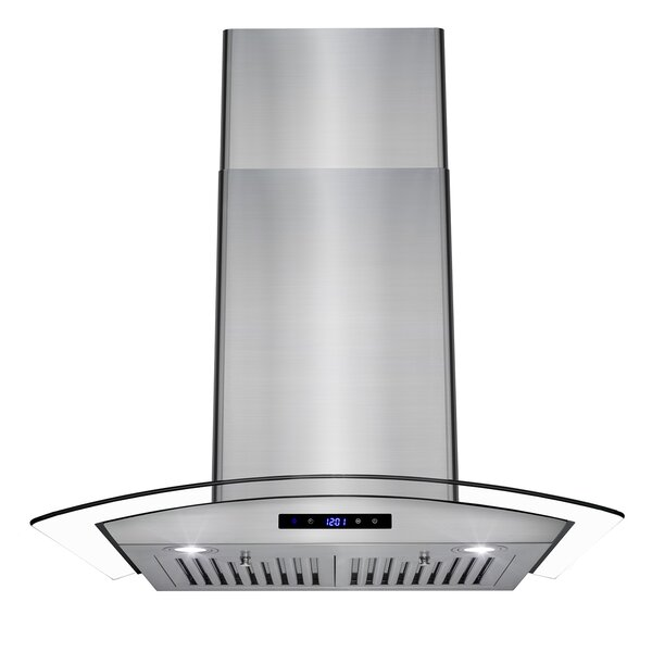 30 343 CFM Convertible Wall Mount Range Hood by AK