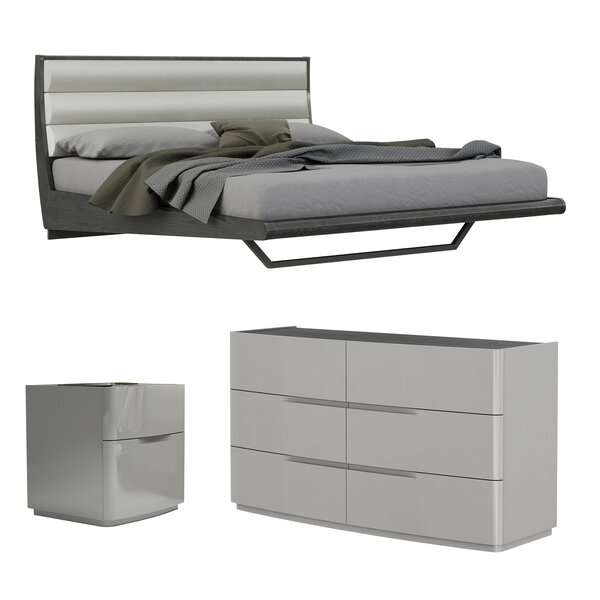 Siegle Platform Configurable Bedroom Set by Orren Ellis