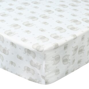 Online Reviews Elephant Baby Walk Fitted Crib Sheet By Laugh, Giggle & Smile