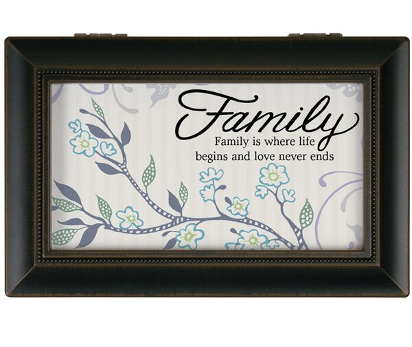 Family Music Decorative Box by Carson Home Accents