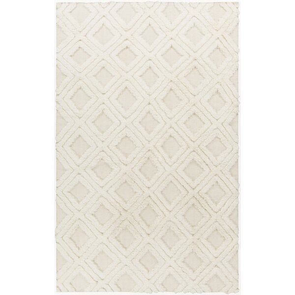 Avian Ivory Geometric Rug by Bungalow Rose