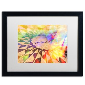 'Imagine Colors' by Adam Kadmos Framed Painting Print by Trademark Fine Art