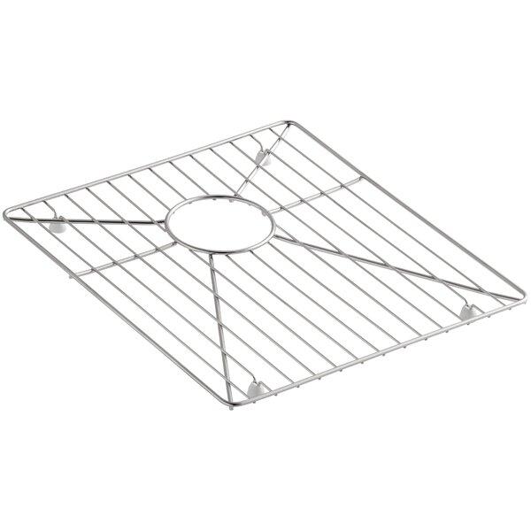 Stainless Steel Sink Rack, 15-15/16 x 14 for Vault K-3820 and K-3838 Kitchen Sinks by Kohler