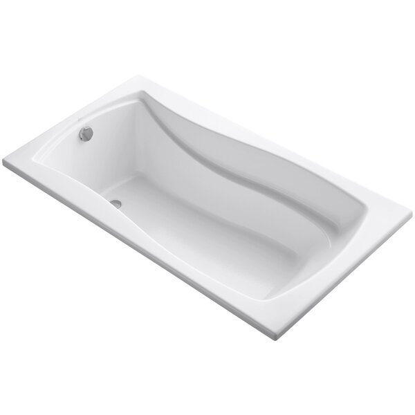 Mariposa Vibracoustic 66 x 36 Soaking Bathtub by Kohler