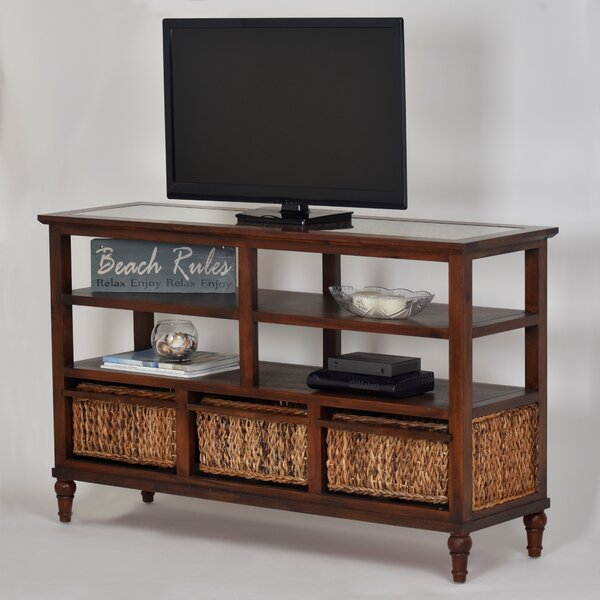 Eversole Solid Wood TV Stand for TVs up to 60