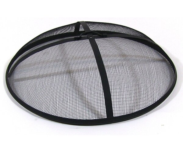 Knoxville Heavy Duty Fire Pit Spark Screen by Freeport Park