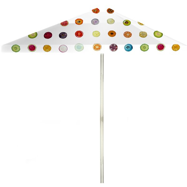 6' Square Market Umbrella by Best of Times Best of Times