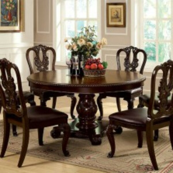 Rolanda Solid Oak Dining Table by Astoria Grand Astoria Grand