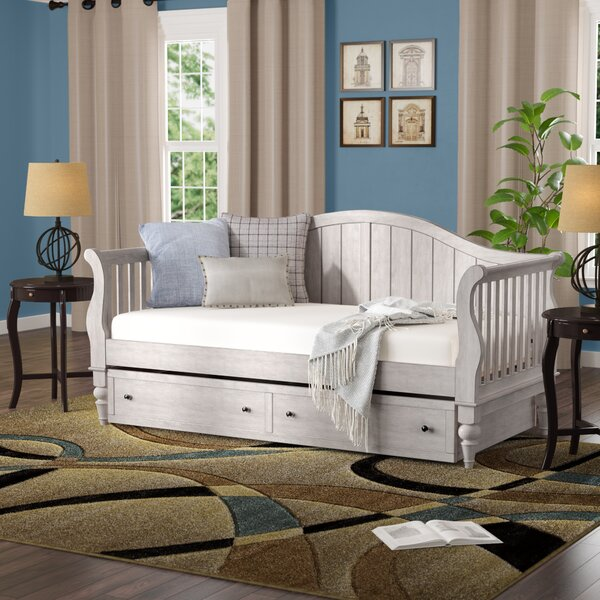 Fort Collins Twin Daybed With Trundle And Toybox Divider