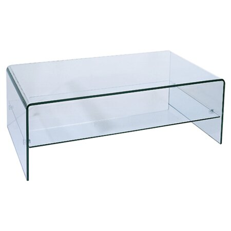 Ryder Coffee Table with Storage Shelf by Hokku Designs Hokku Designs