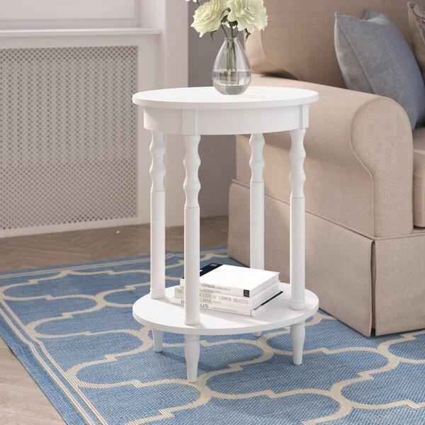 Moravian End Table By Alcott Hill