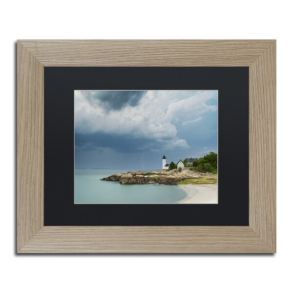 Before the Storm by Michael Blanchette Matted Framed Photographic Print by Trademark Fine Art