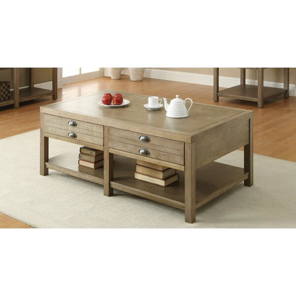 Acel Coffee Table with Storage by Gracie Oaks Gracie Oaks