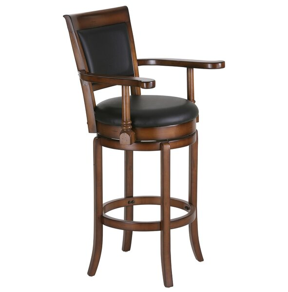 Diller 30 Swivel Bar Stool by Charlton Home