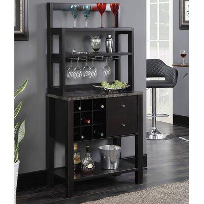 Beau Wes Bar With Wine Storage