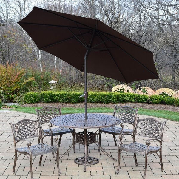 Capitol 7 Piece Dining Set by Oakland Living