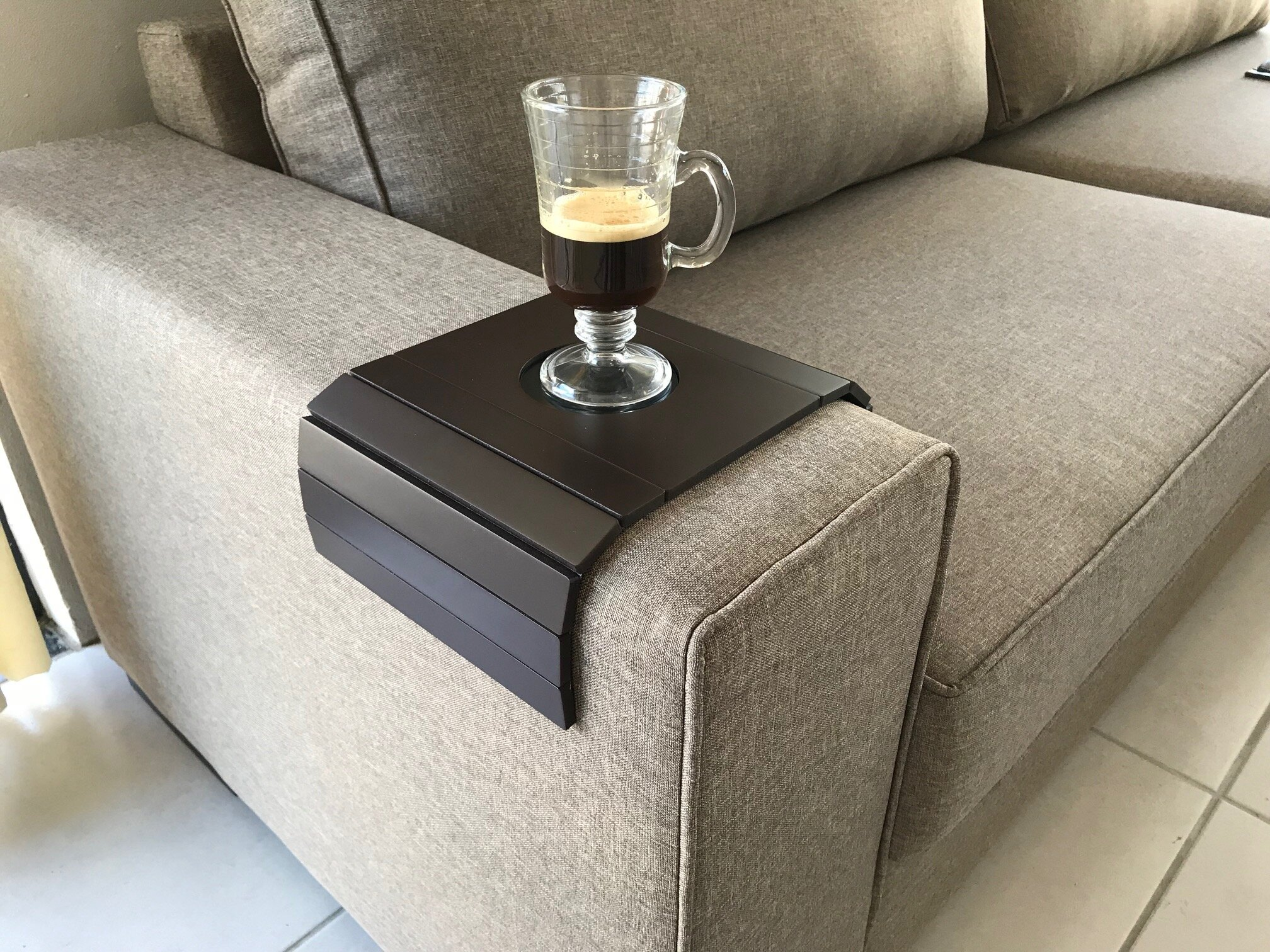Symple Stuff Delong Sofa Couch Tray