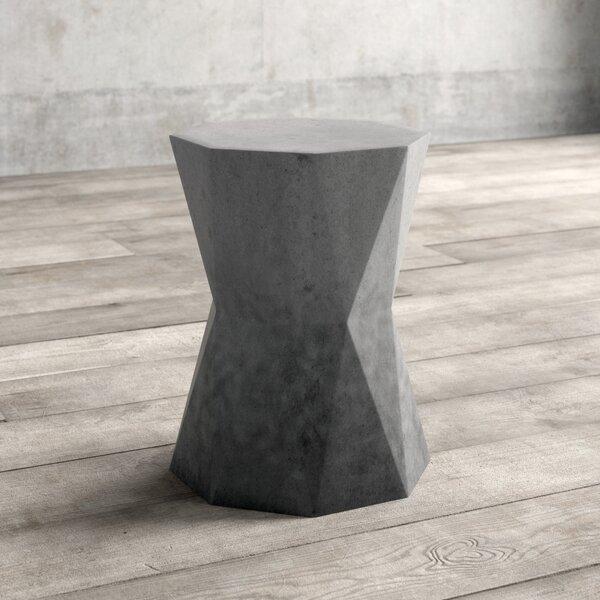 Kibler Drum End Table By Greyleigh