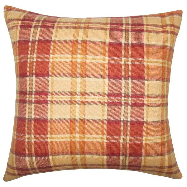 Adrian Plaid Floor Pillow by Loon Peak