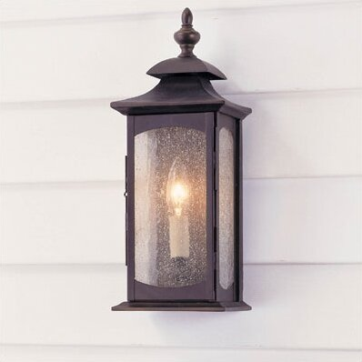 Abrahams Outdoor Wall Lantern by Charlton Home