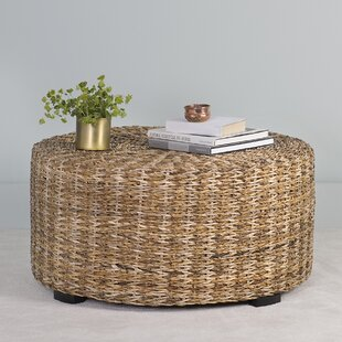 Where buy  Petrucci Abaca Coffee Table ByBreakwater Bay