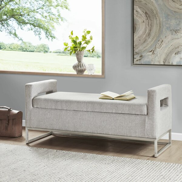 Mannion-King Upholstered Storage Bench by Orren Ellis Orren Ellis
