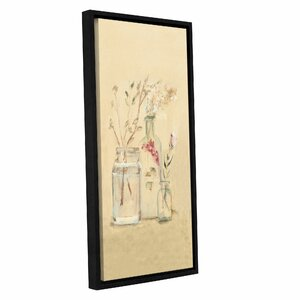 'Blossoms VI' by Cheri Blum Framed Painting Print on Wrapped Canvas by ArtWall