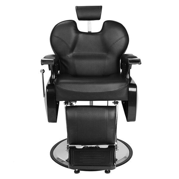 Patio Furniture Hydraulic Salon Hair Stylist Reclining 2 Piece Massage Chair Set