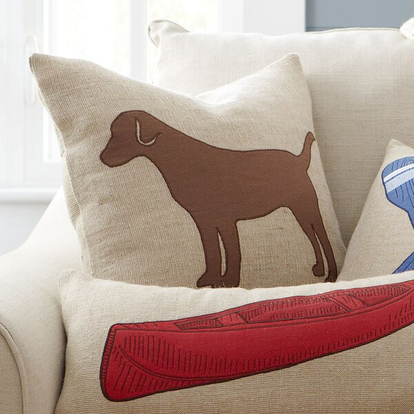 Lakeview Lab I Pillow Cover by Birch Lane™