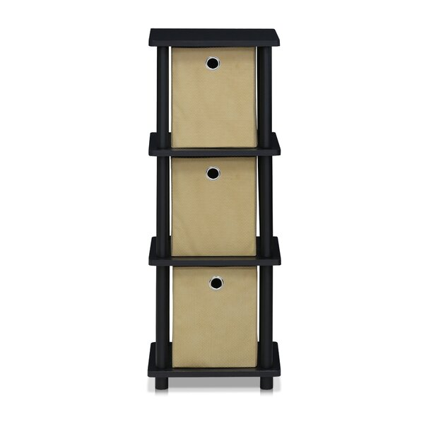 Colleen 37 H x 13.39 W Shelf with Bin by Zipcode Design