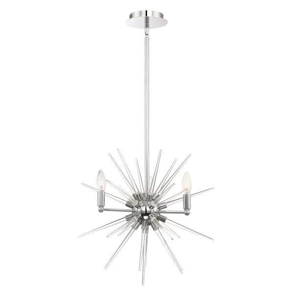 Moriz 4-Light Sputnik Sphere Chandelier by Corrigan Studio Corrigan Studio