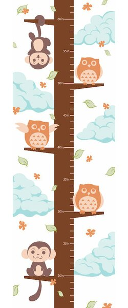 Hanging on the Treetop Growth Chart by Viv + Rae