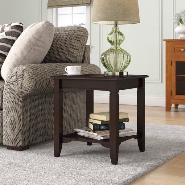 Colin End Table With Storage By Andover Mills
