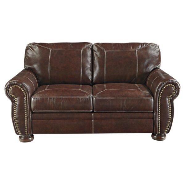 Ryan Espresso Leather Sofa by Trent Austin Design