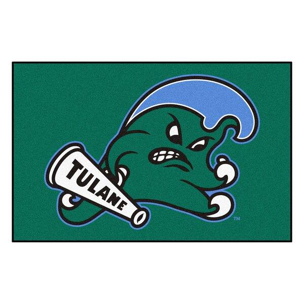 Collegiate NCAA Tulane University Doormat by FANMATS