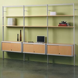 Envision 3-Shelf Oversized Bookcase by Peter Pepper