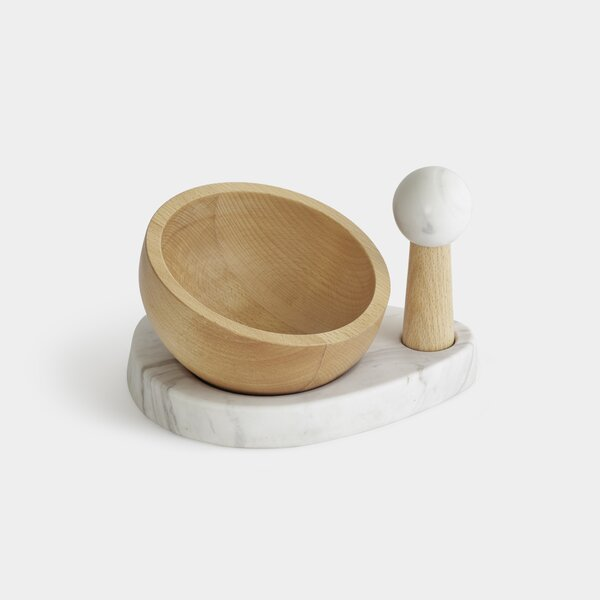 2-Piece Mortar And Pestle Set by Umbra