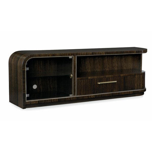 Modern Streamline TV Stand For TVs Up To 88