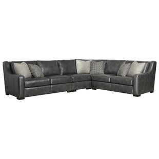 Germain Leather Sectional by Bernhardt