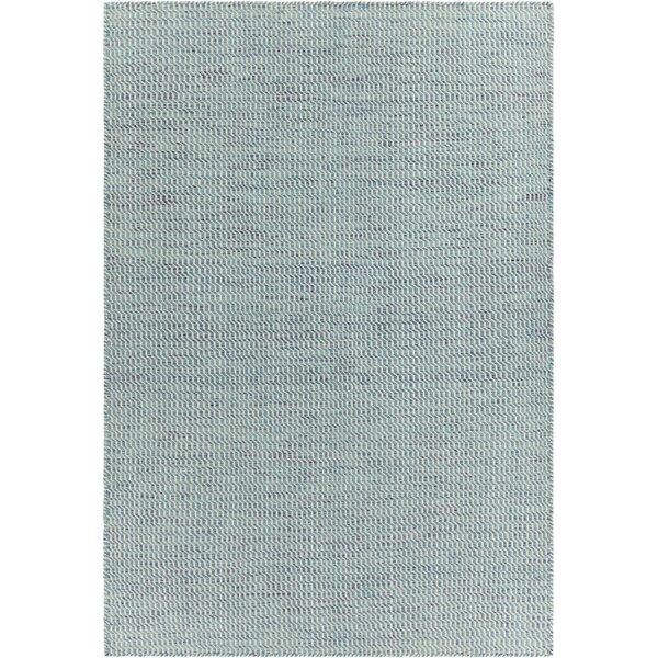Begley Modern Textured Blue Area Rug by Brayden Studio